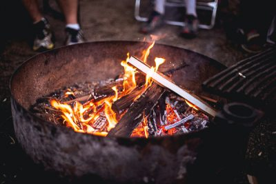 Free Stock Photos for Blogs - Campfire 1