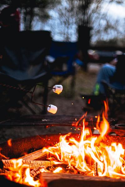 Free Stock Photos for Blogs - Campfire Marshmallow Smores 1