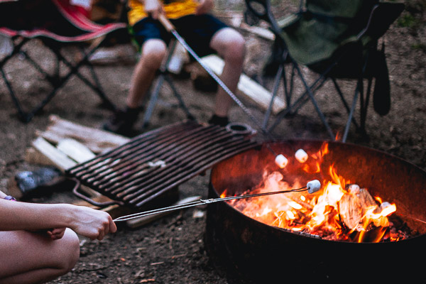 Free Stock Photos for Blogs - Campfire Marshmallow Smores 2