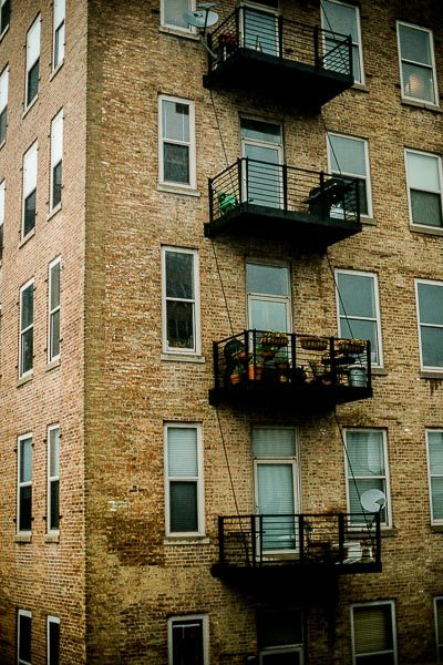 Free Stock Photos for Blogs - City Apartment Building 1