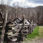 Free Stock Photos for Blogs - Mountain Fence Row 2