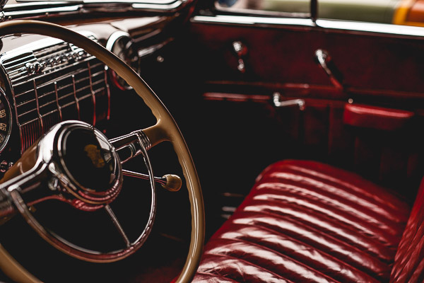 Free Stock Photos for Blogs - Classic Car Steering Wheel 2