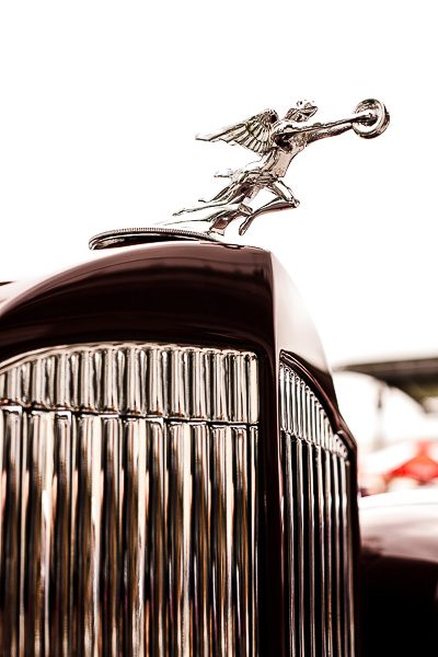 Free Stock Photos for Blogs - Classic Car Hood Ornament 2