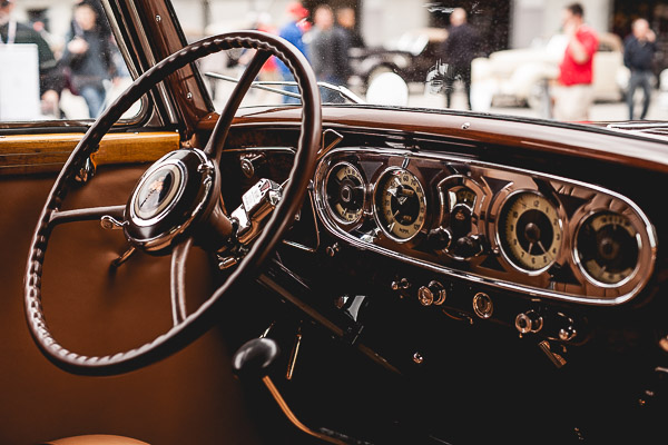 Free Stock Photos for Blogs - Classic Car Steering Wheel 3