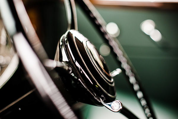 Free Stock Photos for Blogs - Classic Car Steering Wheel 4