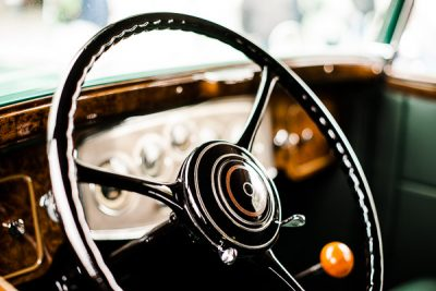 Free Stock Photos for Blogs - Classic Car Steering Wheel 5