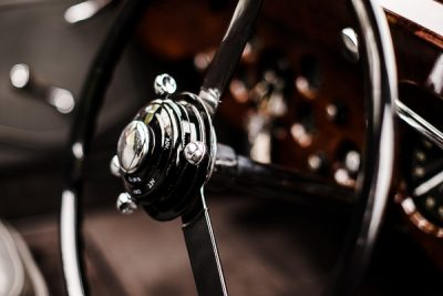 Free Stock Photos for Blogs - Classic Car Steering Wheel 6