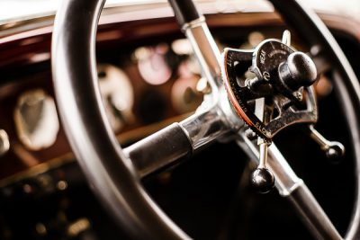 Free Stock Photos for Blogs - Classic Car Steering Wheel 7