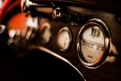 Free Stock Photos for Blogs - Classic Car Dashboard 3