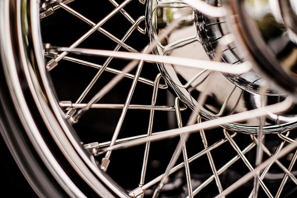 Free Stock Photos for Blogs - Classic Car Hub Cap 1