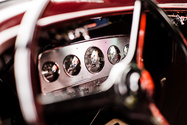 Free Stock Photos for Blogs - Classic Car Dashboard 4