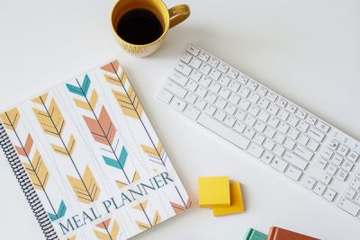 Free Stock Photos for Blogs - Meal Planner Office Desk 25