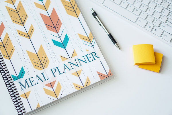 Free Stock Photos for Blogs - Meal Planner Office Desk 36