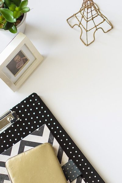Free Stock Photos for Blogs - Paris Black and Gold Office Desk 5