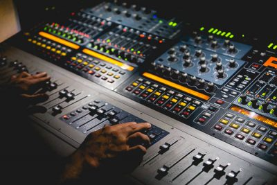 Free Stock Photos for Blogs - Sound Board 1