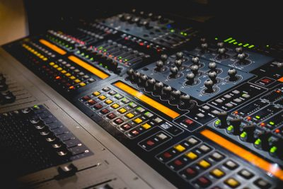 Free Stock Photos for Blogs - Sound Board 2
