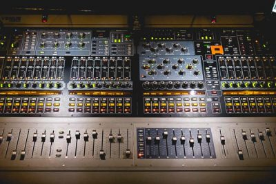 Free Stock Photos for Blogs - Sound Board 3