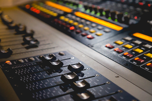 Free Stock Photos for Blogs - Sound Board 5