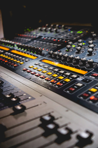 Free Stock Photos for Blogs - Sound Board 8