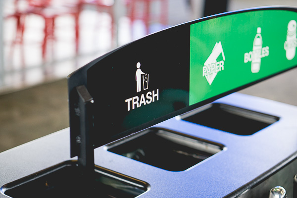 Free Stock Photos for Blogs - Trash and Recycling Bin 1