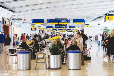 Free Stock Photos for Blogs - Airport Concourse 2