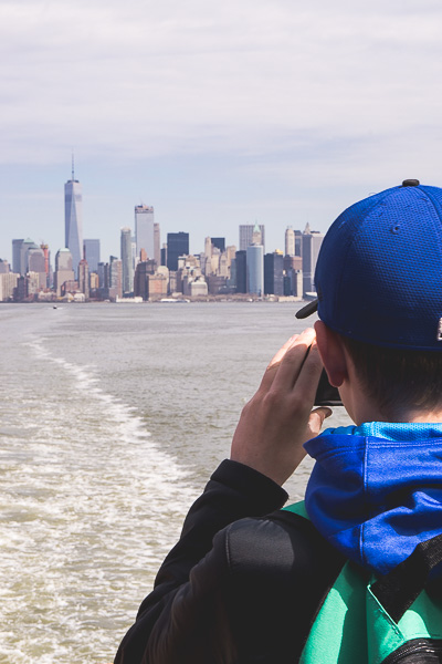 Free Stock Photos for Blogs - Tourist in New York City 1