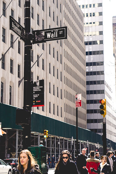 Free Stock Photos for Blogs - Wall Street New York 1