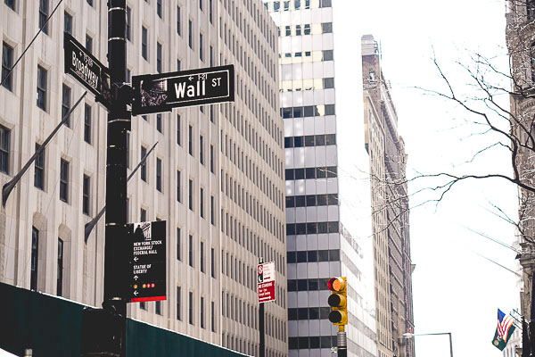 Free Stock Photos for Blogs - Wall Street New York 2