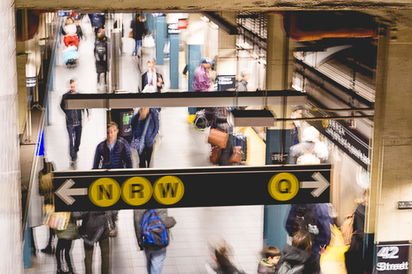 Free Stock Photos for Blogs - New York Subway 5