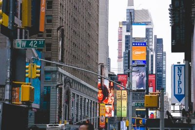 Free Stock Photos for Blogs - NYC Times Square 1