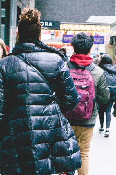 Free Stock Photos for Blogs - People Walking Down the Street 1