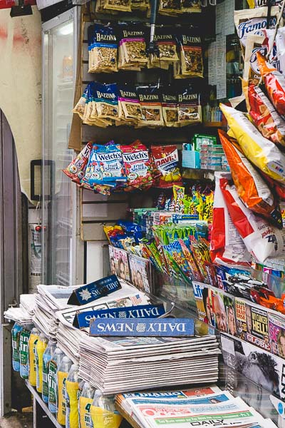 Free Stock Photos for Blogs - New York City Newsstand 1