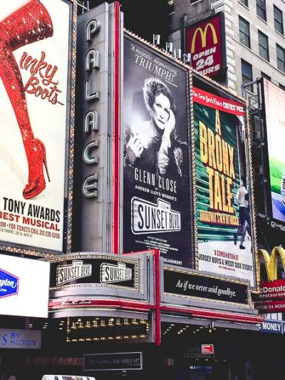 Free Stock Photos for Blogs - Broadway Play in New York 1