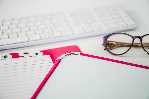 Free Stock Photos for Blogs - Hot Pink Office Desk 14