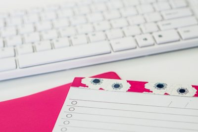 Free Stock Photos for Blogs - Hot Pink Office Desk 19