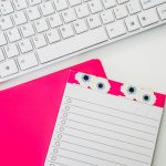 Free Stock Photos for Blogs - Hot Pink Office Desk 21