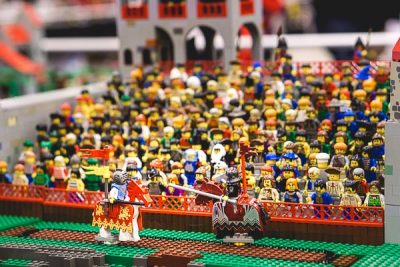Free Stock Photos for Blogs - Lego Medieval Jousting Tournament 1