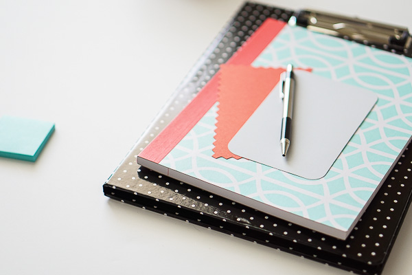 Free Stock Photos for Blogs - Mint Green and Coral Office Desk 10