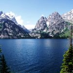 Free Stock Photos for Blogs - Jenny Lake at Teton Mountains 1