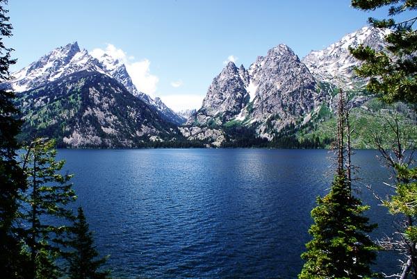 Free Stock Photos for Blogs - Jenny Lake at Teton Mountains 1