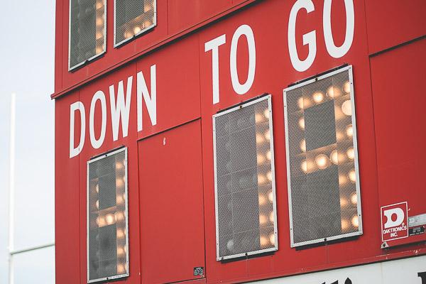 Free Stock Photos for Blogs - Football Game Scoreboard 1