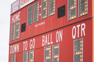 Free Stock Photos for Blogs - Football Game Scoreboard 2