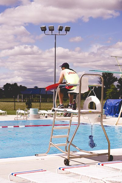 ree Stock Photos for Blogs - Lifeguard at the Pool 1