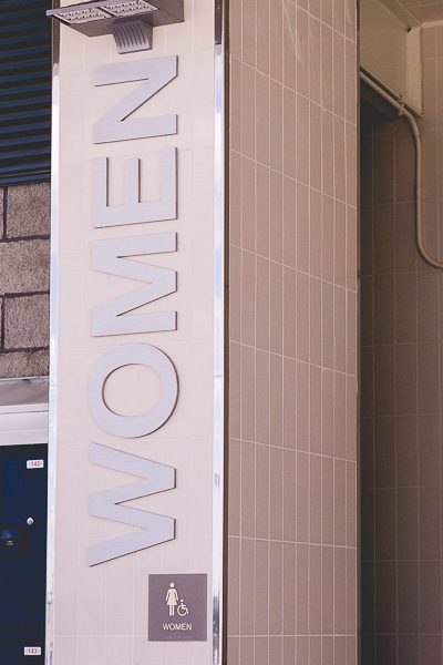 Free Stock Photos for Blogs - Women's Public Restroom 1