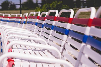 Free Stock Photos for Blogs - Pool Lounge Chairs 1