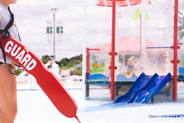 Free Stock Photos for Blogs - Lifeguard at the Pool 2
