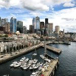 Free Stock Photos for Blogs - Port of Seattle Skyline