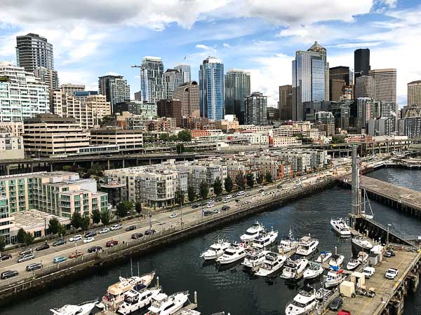 Free Stock Photos for Blogs - Port of Seattle Skyline 2