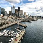 Free Stock Photos for Blogs - Port of Seattle Skyline 3