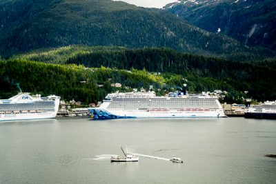 Free Stock Photos for Blogs - Cruise Ships in Port